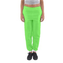Neon Color   Light Brilliant Harlequin Women s Jogger Sweatpants by tarastyle
