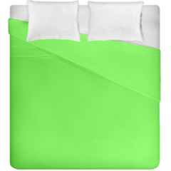 Neon Color   Light Brilliant Harlequin Duvet Cover Double Side (king Size) by tarastyle