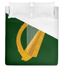 Flag Of Leinster Duvet Cover (queen Size) by abbeyz71