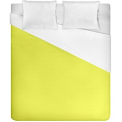 Neon Color   Light Brilliant Yellow Duvet Cover (california King Size) by tarastyle