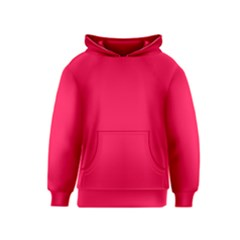 Neon Color   Luminous Vivid Crimson Kids  Pullover Hoodie by tarastyle
