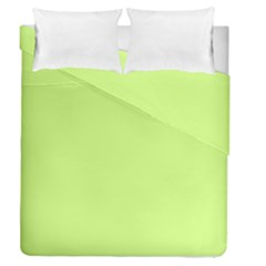 Neon Color - Very Light Spring Bud Duvet Cover Double Side (queen Size) by tarastyle