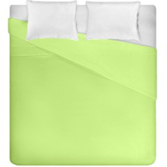 Neon Color   Very Light Spring Bud Duvet Cover Double Side (king Size) by tarastyle