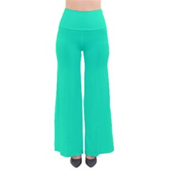 Neon Color   Vivid Turquoise Pants by tarastyle