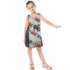 Marine Le Pen Kids  Sleeveless Dress