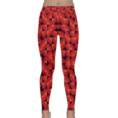Fake Wood Pattern Classic Yoga Leggings by linceazul