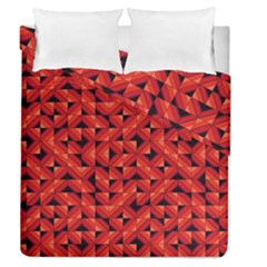 Fake Wood Pattern Duvet Cover Double Side (queen Size) by linceazul
