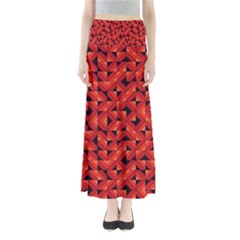 Fake Wood Pattern Maxi Skirts by linceazul