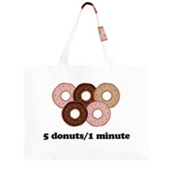 852 Zipper Large Tote Bag by Valentinaart
