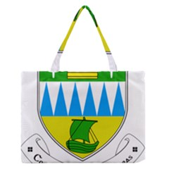 Coat Of Arms Of County Kerry  Medium Zipper Tote Bag by abbeyz71