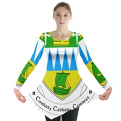 Coat Of Arms Of County Kerry Long Sleeve Tunic
