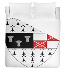 County Kilkenny Coat Of Arms Duvet Cover (queen Size) by abbeyz71