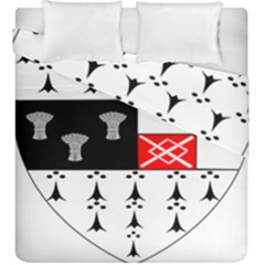 County Kilkenny Coat Of Arms Duvet Cover Double Side (king Size) by abbeyz71
