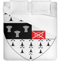 County Kilkenny Coat Of Arms Duvet Cover (king Size) by abbeyz71