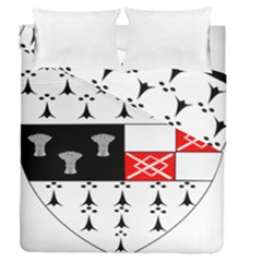 County Kilkenny Coat Of Arms Duvet Cover Double Side (queen Size) by abbeyz71