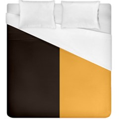 Flag Of County Kilkenny Duvet Cover (king Size) by abbeyz71