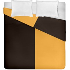 Flag Of County Kilkenny Duvet Cover Double Side (king Size) by abbeyz71