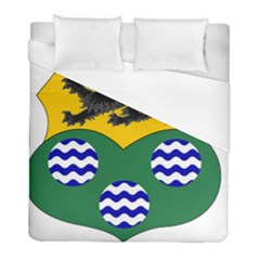 County Leitrim Coat Of Arms Duvet Cover (full/ Double Size) by abbeyz71