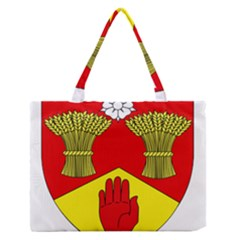 County Londonderry Coat Of Arms  Medium Zipper Tote Bag by abbeyz71