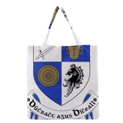 County Monaghan Coat Of Arms  Grocery Tote Bag by abbeyz71