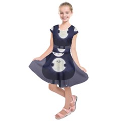 Moon Kids  Short Sleeve Dress