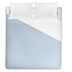 Pastel Color   Light Azureish Gray Duvet Cover (queen Size) by tarastyle