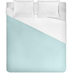 Pastel Color   Light Cyanish Gray Duvet Cover (california King Size) by tarastyle