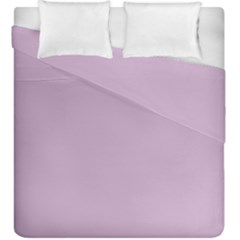 Pastel Color   Magentaish Gray Duvet Cover Double Side (king Size) by tarastyle