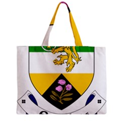 County Offaly Coat Of Arms  Medium Zipper Tote Bag by abbeyz71