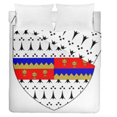 County Tipperary Coat Of Arms  Duvet Cover Double Side (queen Size) by abbeyz71