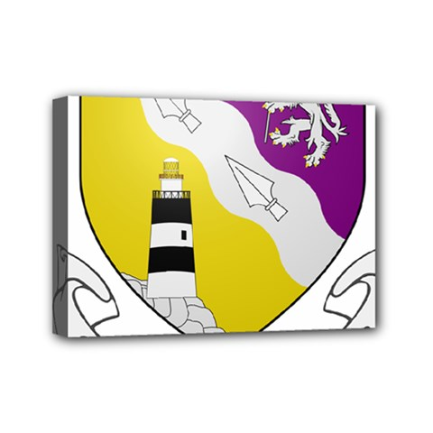 County Wexford Coat Of Arms  Mini Canvas 7  X 5  by abbeyz71
