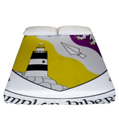 County Wexford Coat Of Arms  Fitted Sheet (queen Size) by abbeyz71