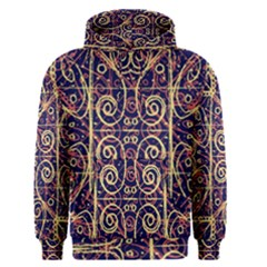 Tribal Ornate Pattern Men s Pullover Hoodie