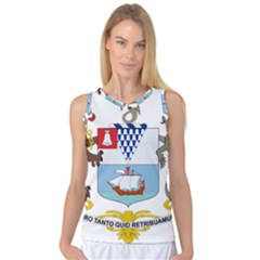 Coat Of Arms Of Belfast  Women s Basketball Tank Top by abbeyz71