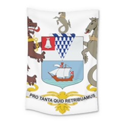 Coat Of Arms Of Belfast  Small Tapestry by abbeyz71