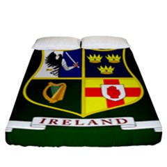 Flag Of Ireland National Field Hockey Team Fitted Sheet (california King Size) by abbeyz71