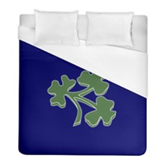 Flag Of Ireland Cricket Team Duvet Cover (full/ Double Size) by abbeyz71