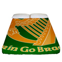 Erin Go Bragh Banner Fitted Sheet (king Size) by abbeyz71