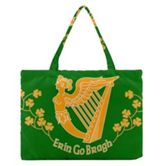 Erin Go Bragh Banner Medium Zipper Tote Bag by abbeyz71