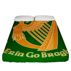 Erin Go Bragh Banner Fitted Sheet (california King Size) by abbeyz71