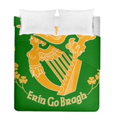 Erin Go Bragh Banner Duvet Cover Double Side (full/ Double Size) by abbeyz71
