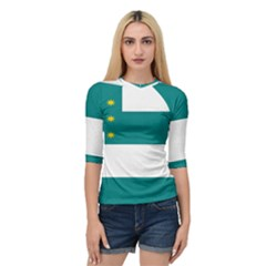 Flag Of Fenian Brotherhood Quarter Sleeve Tee