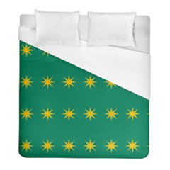 32 Stars Fenian Flag Duvet Cover (full/ Double Size) by abbeyz71