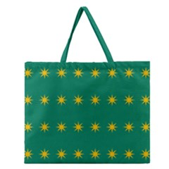 32 Stars Fenian Flag Zipper Large Tote Bag by abbeyz71