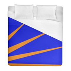Sunburst Flag Duvet Cover (full/ Double Size) by abbeyz71