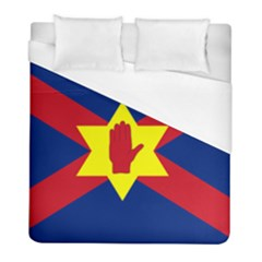 Flag Of The Ulster Nation Duvet Cover (full/ Double Size) by abbeyz71