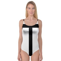 Anchored Cross Camisole Leotard  by abbeyz71