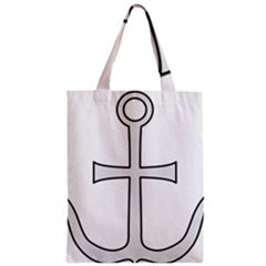Anchored Cross Classic Tote Bag by abbeyz71