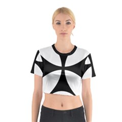 Bolnisi Cross Cotton Crop Top by abbeyz71