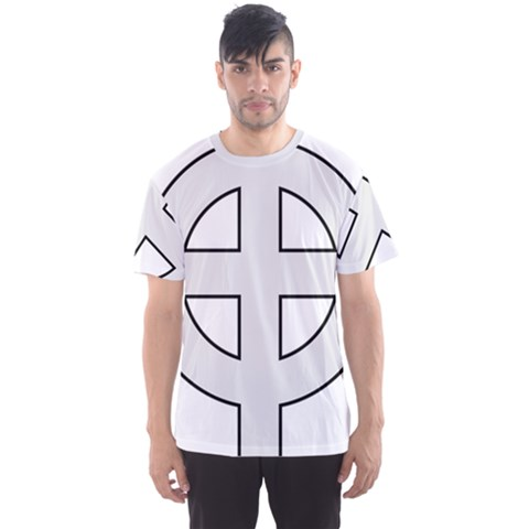 Celtic Cross  Men s Sport Mesh Tee by abbeyz71